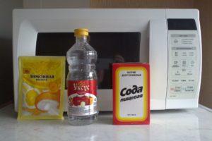 Уксус и сода от жира