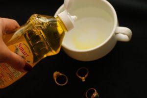 Народные средства чистки золота