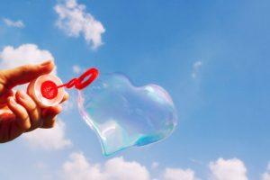 Сердце из пузыря