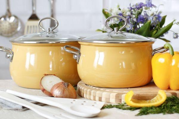 Чем отмыть пригоревшую кастрюлю из нержавейки или эмалированну, как почистить кастрюлю внутри от желтизны.Кухня — вкус комфорта