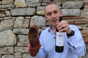 Ботинок и вино