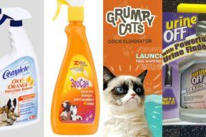 Профессиональные средства от кошачьего запаха