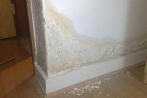 Сырая стена в квартире