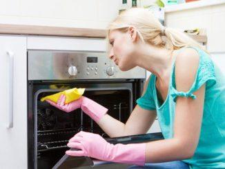 Мытье духового шкаа