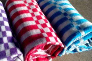 Детские одеяла в клетку