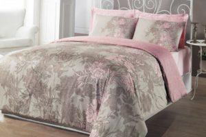 Розово-серое белье
