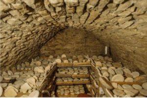 Хранение сыров в погребе