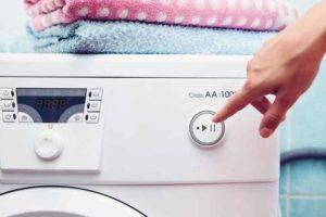 Запуск стиральной машины