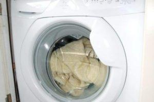 Закрытый люк стиральной машины