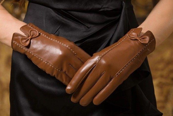 Как помыть кожаные перчатки
