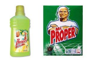 Средство дя мытья пола Mr. Proper