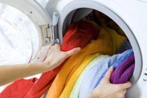 Цветные вещи в стиральную машину