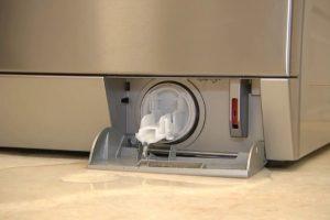 Потекший фильтр стиральной машины