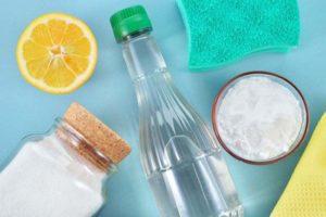 Соль, сода, лимон и уксус