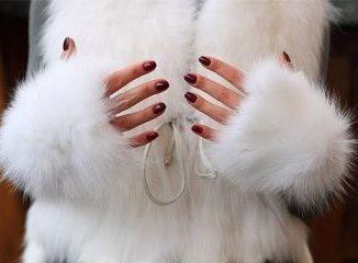 Белая шубка
