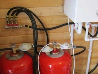 газовые баллоны в доме