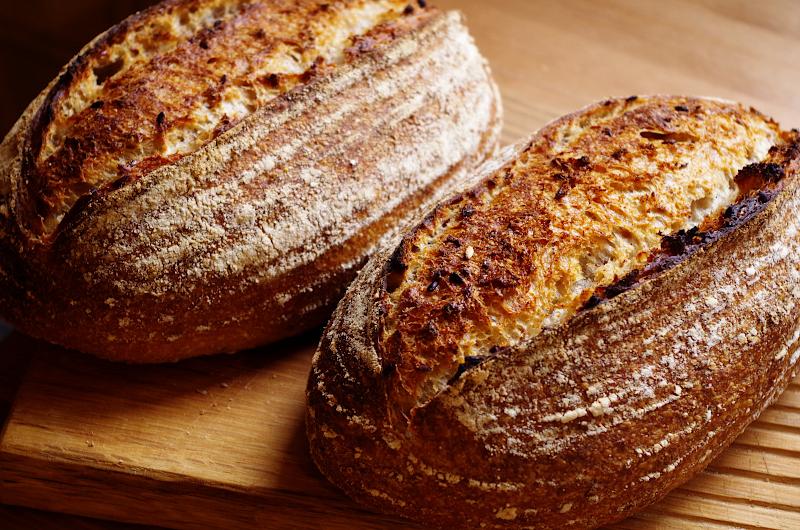 домашний хлеб из печи фото