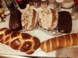 хлеб из печи домашний