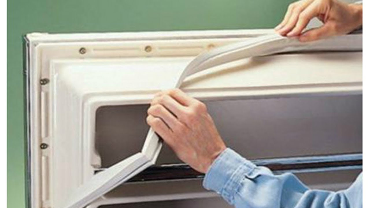 очистка уплотнителей холодильника