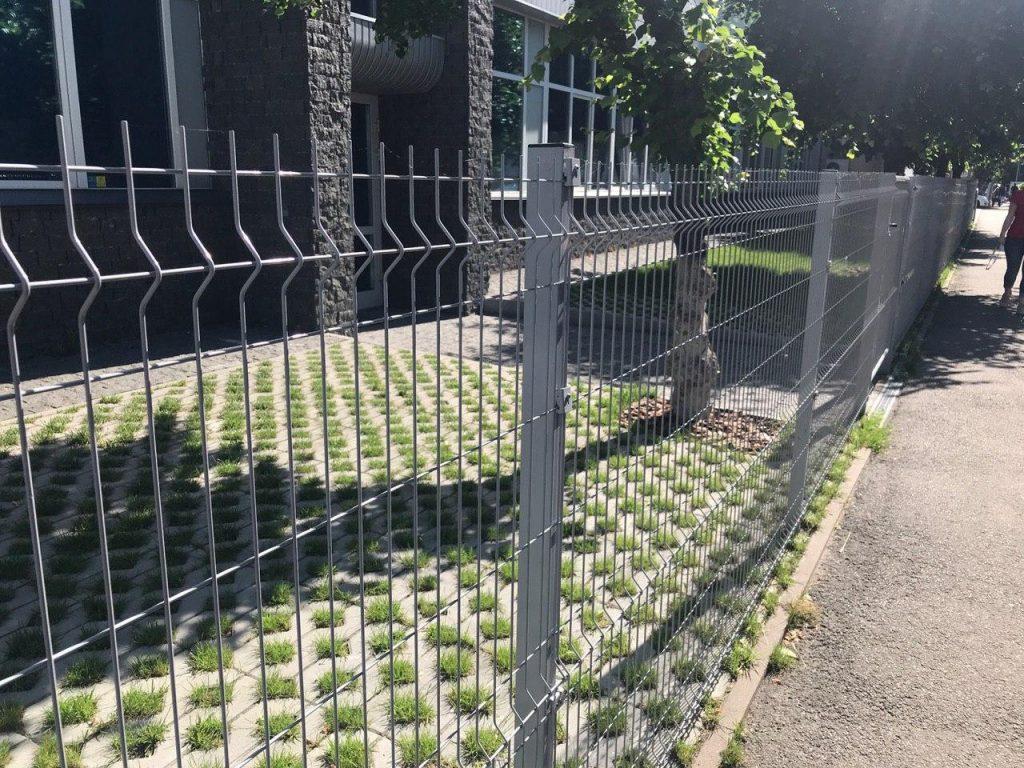 секционный забор фото