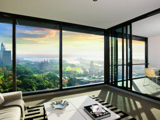 Алюминиевые окна идеи