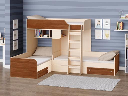 детские кровати со шкафом